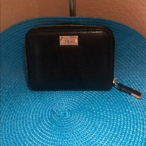 Coach preowned zip around wallet